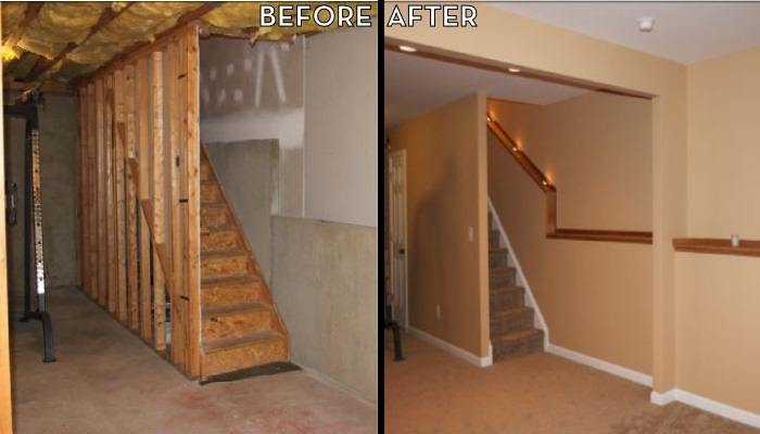 We Can Turn An Ugly Old Basement Into A Fantastic New Living Space.